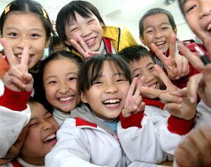 دانش آموزان چین